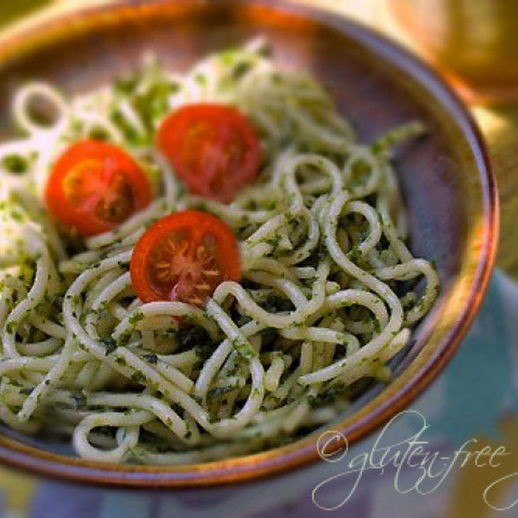 "Basil Mint Parsley Raw ""Pesto"" Sauce Recipe"