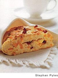 Bacon, Egg, and Cheddar Scones | Recipe