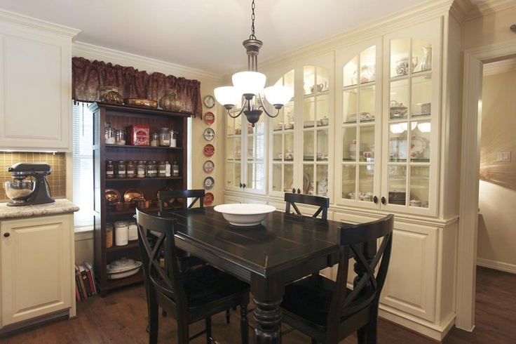 Built in china cabinet kitchen make over pinterest for Chinese kitchen cabinets nj