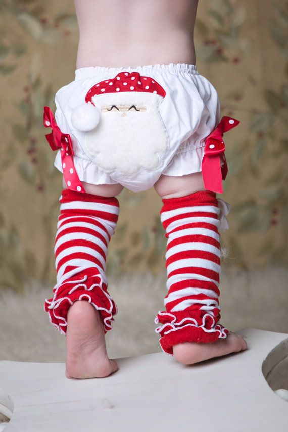 Christmas candy cane ruffle leg warmers children by babymefashion 13