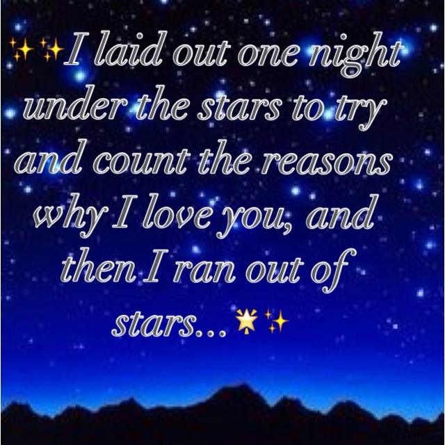 reasons why i love you stars quotes quotes