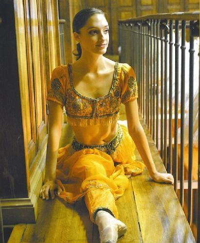 Dorothee Gilbert before La Bayadere, Paris Opera Ballet