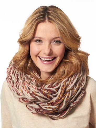 Arm Knit Cowl | Yarn | Free Knitting Patterns | Crochet Patterns | Yarnspirations