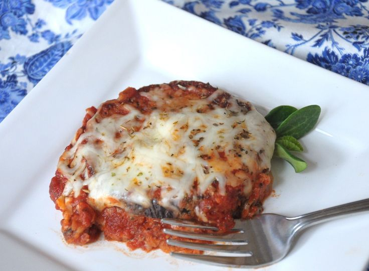 Low-fat eggplant Parmesan | Fav recipes | Pinterest