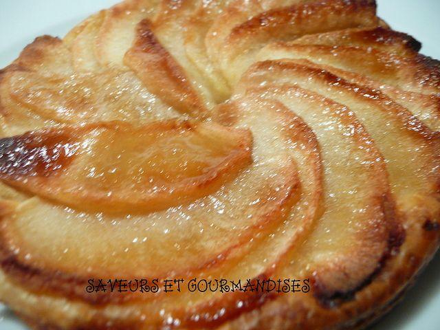 Tarte fine aux pommes sucr pinterest - Tarte aux pommes fine ...