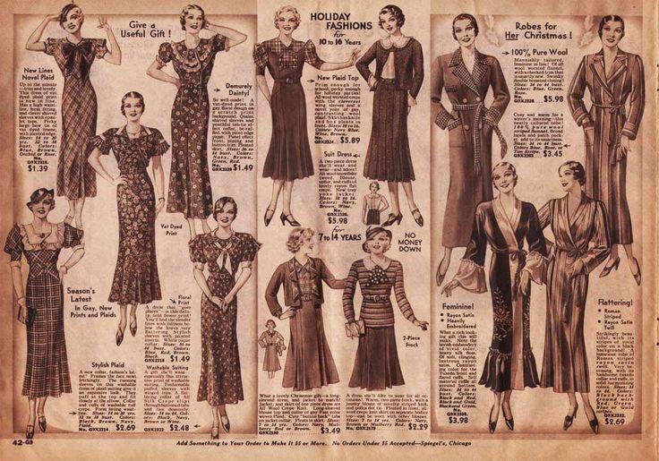 1933-women-dresses-ad-01.jpg (1000×700) | Mockingbird ...