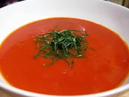 Cool tomato soup with a tickle of Moroccan spice...share your recipes ...
