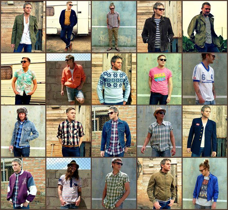 Photographs vintage male clothing - borzii