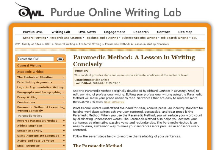 academic essay writing resources