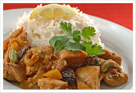 Chicken With Apricots In Lemon-Pepper Sauce This recipe is a flavorful ...