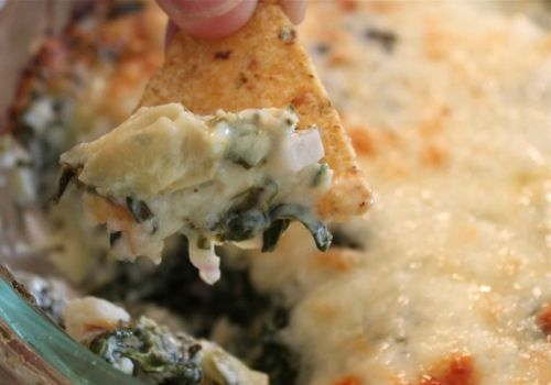 warm spinach mascarpone dip steamy kitchen recipes hot spinach and