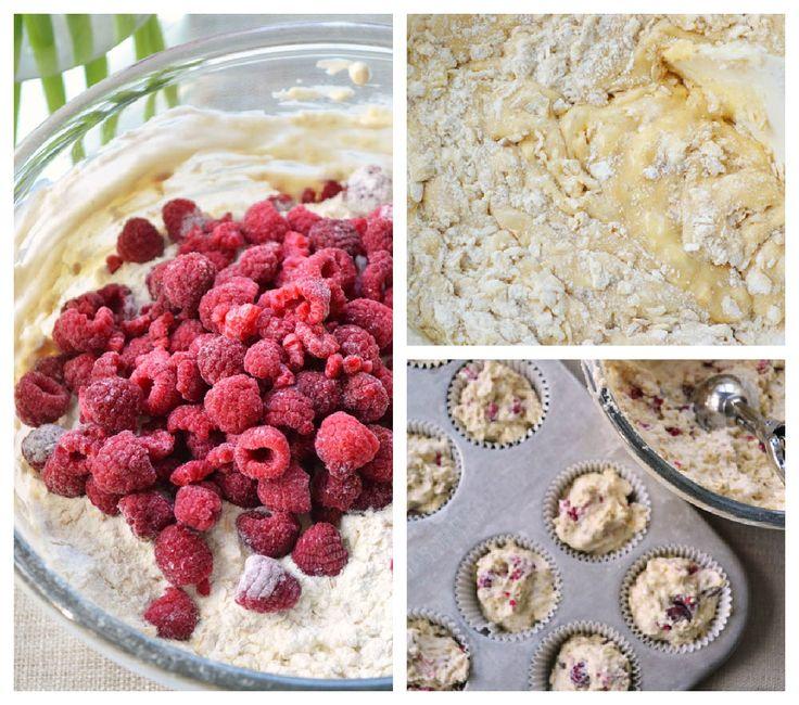 Heartland Raspberry Yogurt Muffins » Dinner With Julie
