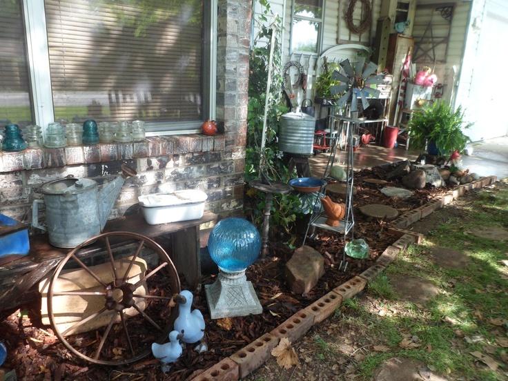 Garden And Yard Junk Outdoors Pinterest