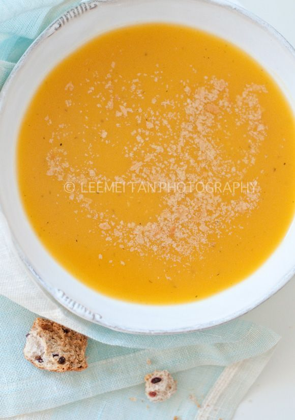 Easy Butternut Squash Soup - (This is so easy and so delicious. I ...