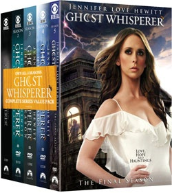 @Overstock - Gifted with the ability to communicate with Earthbound spirits, Melinda Gordon (Jennifer Love Hewitt) helps ghosts to resolve the issues from their life that have prevented them from crossing over from this world to the next. Despite the initial skepti...http://www.overstock.com/Books-Movies-Music-Games/Ghost-Whisperer-The-Complete-Series-DVD/5156649/product.html?CID=214117 $67.42