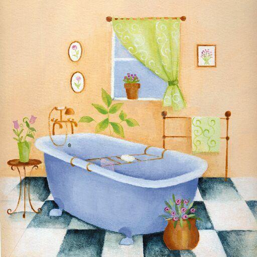 Imagenes De Baño Vintage:Identificadores De Bano Dibujos
