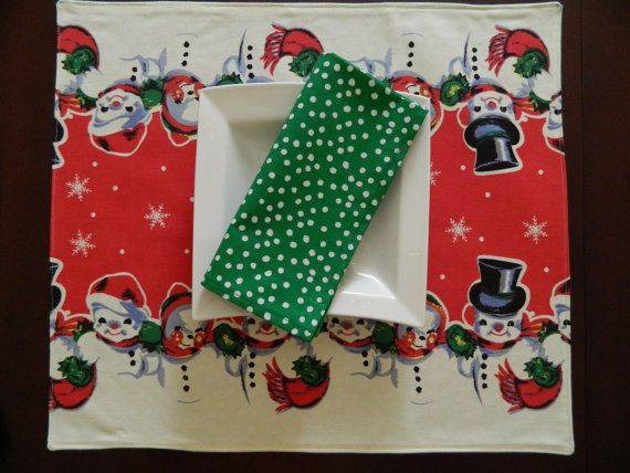 Napkin Holiday Table table Set. napkin Runner  and and set Table runner Christmas Topper