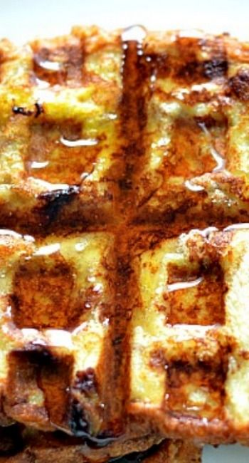 Cinnamon French Toast Waffles | Breakfast & Brunch 3 | Pinterest