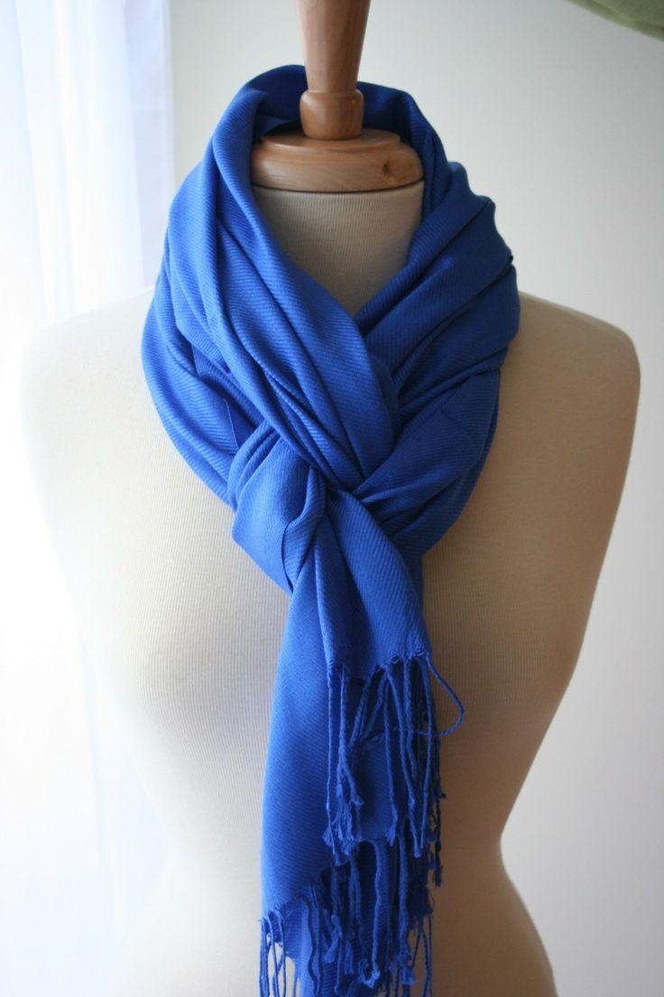 braid scarf fold style