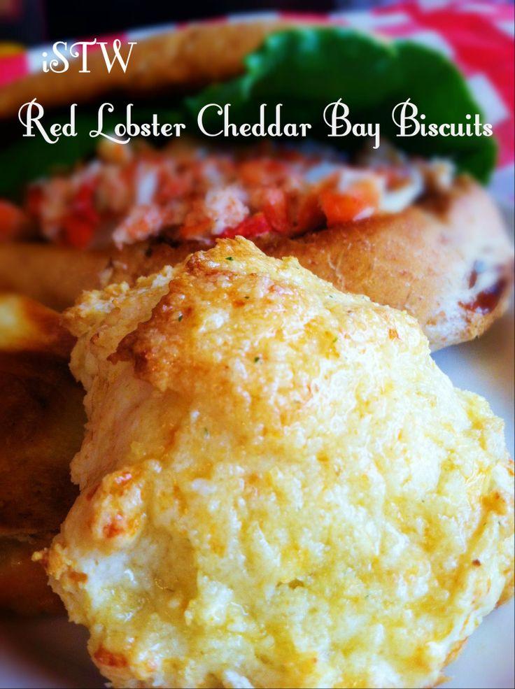 Red Lobster Cheddar Bay Biscuits | Sides | Pinterest