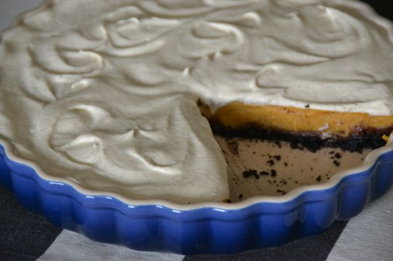 ... Chiffon Pie with a Double-Chocolate Crust and Bourbon Whipped Cream