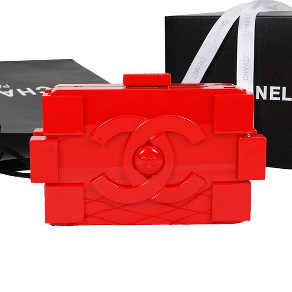 Chanel Bag Online Lego Clutch A52249 Red