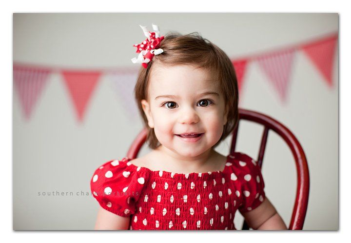 Be mine: adorably simple red and white valentine session