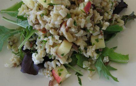 Apple wild rice salad- salads for fall | salads & soups | Pinterest