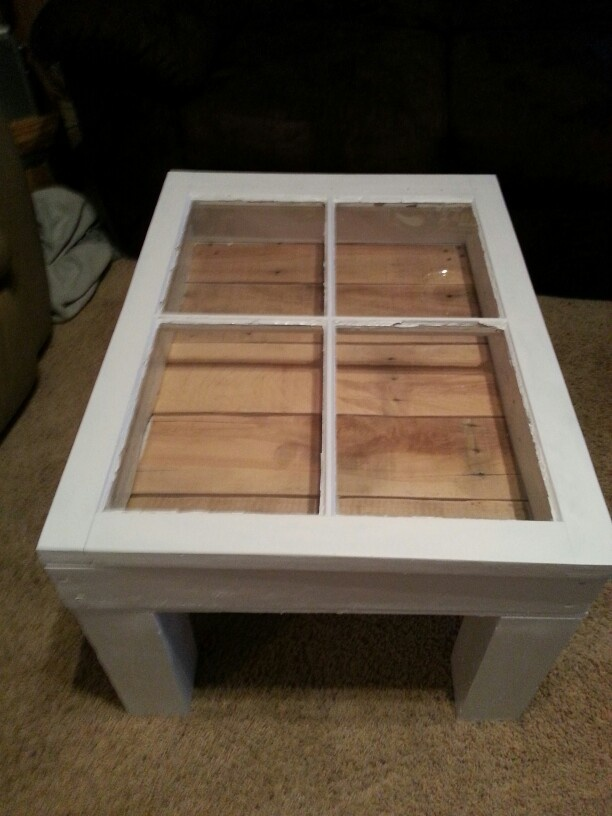 Window Shadow Box Coffee Table Diy Pinterest