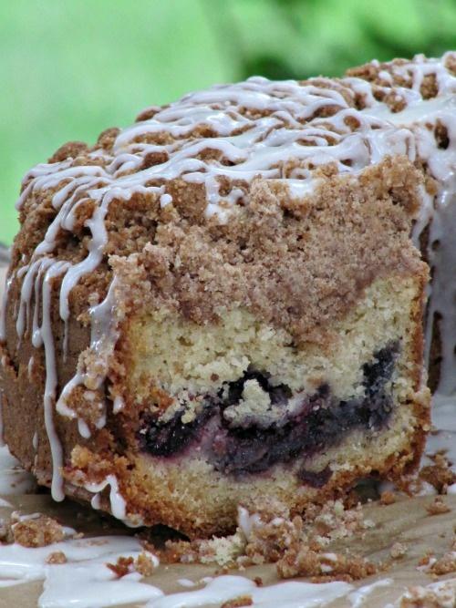 Cherry streusel coffee cake. | Sweet Treats | Pinterest