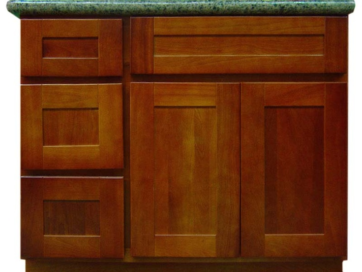 close up of cherry cabinets google search