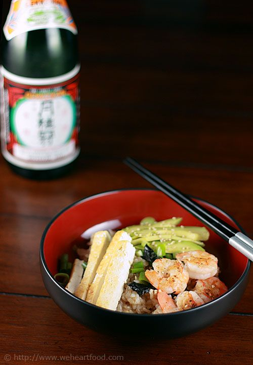 Sushi Bowl (sushi for lazy days) | Veggie Recipes | Pinterest