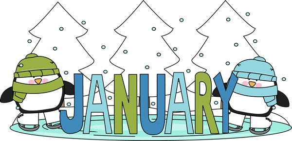 free monthly clip art...links to more january images and other monthly ...