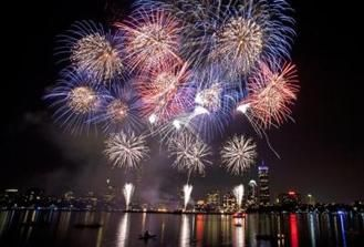 4th of july events around boston