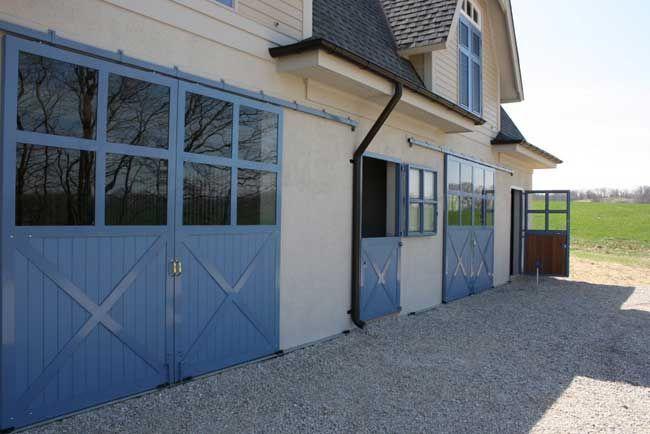 Amazing sliding exterior barn doors dream home pinterest for Exterior barn doors for house