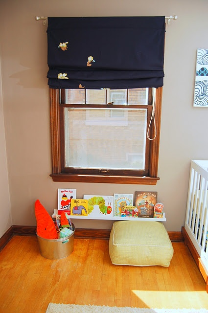 Picture ledge used to hold children's books