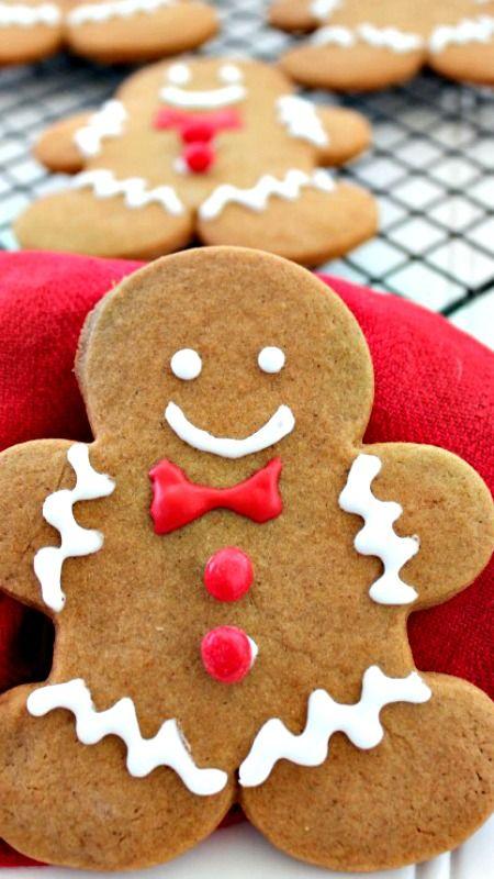 Gingerbread Man Cookie Recipe
