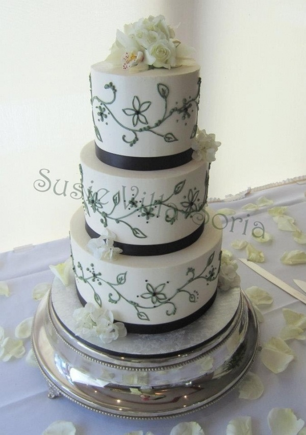 B57 Piping Wedding Cake Ideas B Cakes Pinterest