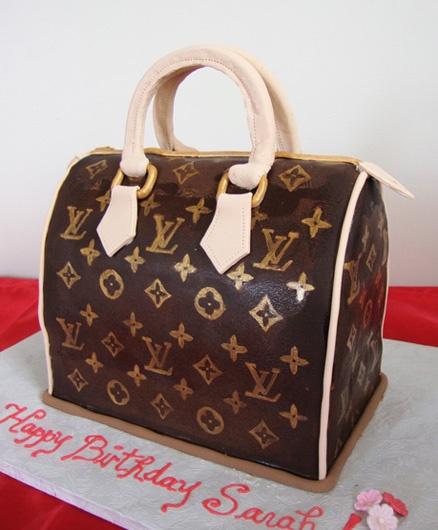 Cake Louis Vuitton Pinterest : Louis Vuitton handbag cake Purse cakes Pinterest