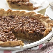 Old-Fashioned Pecan Pie – made with brown sugar rather than corn ...
