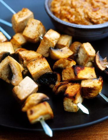 Tofu Kebabs With Cilantro Sauce: A Healthy, Vegetarian Way to Grill ...