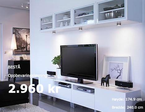 Ikea tv benk bestå