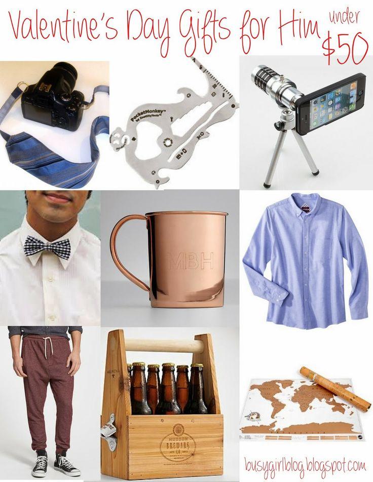 valentine's day gift him ideas
