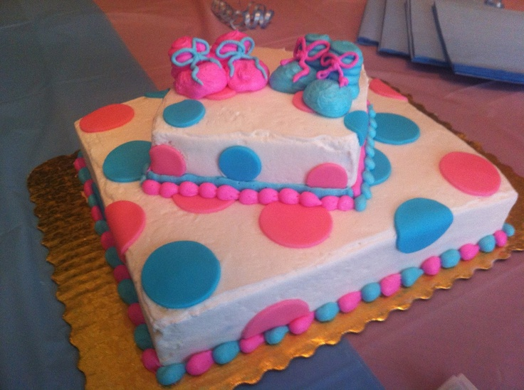 Cake Ideas For Baby Reveal Party : Gender Reveal Party cake K & J Pinterest