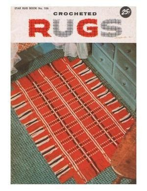 Crocheting Rugs Book : Crocheted Rugs Book No. 106 RUG Patterns A. crochet Pinterest