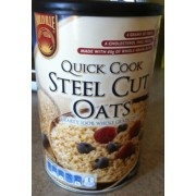 Millville Quick Cook Steel Cut Oats | Fooducate | 150 cal per