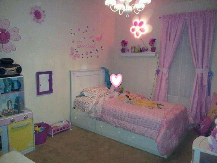 Little girls room decor ideas pinterest for Room decor ideas pinterest