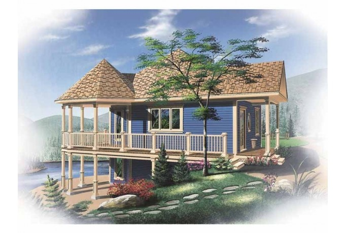 small cottage house plans with basement on turtle lake cottage house plan