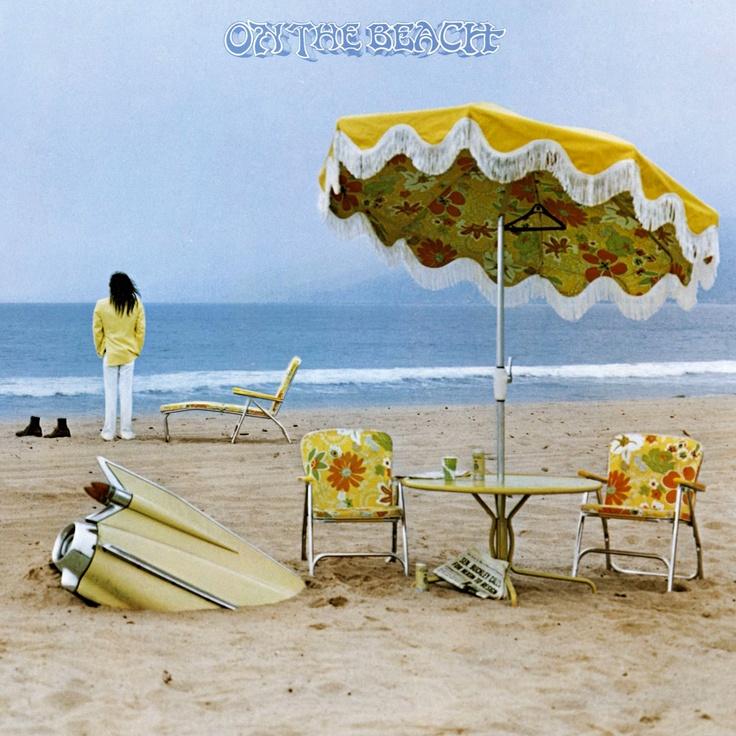 Neil Young - On The Beach - TOP 10 – 70's ALBUM ARTWORK DESIGN