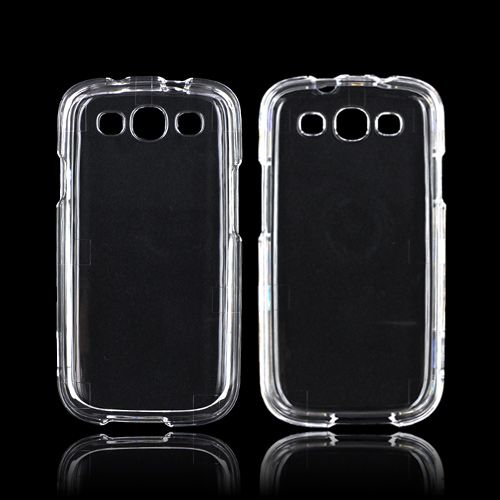 Samsung phone cases for a samsung galaxy s3 : Samsung Galaxy S3 Hard Case - Transparent Clear